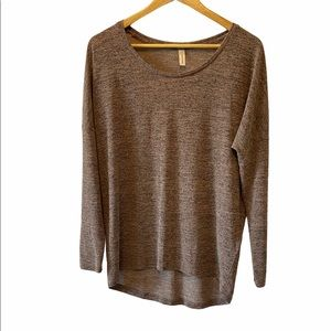 NWOT SOYA CONCEPTS Long Sleeve Lightweight Top S